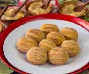 Mini-churros doce de leite / chocolate